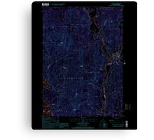 USGS TOPO Map New Hampshire NH Ashland 329469 2000 24000 Inverted Canvas Print