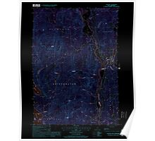 USGS TOPO Map New Hampshire NH Ashland 329469 2000 24000 Inverted Poster