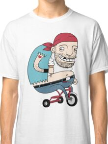Bikie on a Trikie Classic T-Shirt
