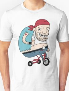 Bikie on a Trikie Unisex T-Shirt