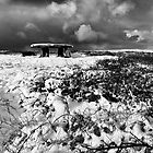 LANYON QUOIT IN THE SNOW by PlanetPenwith