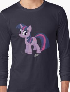 Bring that pony down! - color Long Sleeve T-Shirt