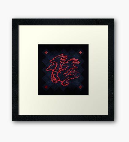 House Targaryen - Game of Thrones Framed Print
