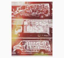 Vintage Graffiti New York. by Slushylq