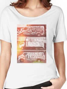 Vintage Graffiti New York. Women's Relaxed Fit T-Shirt