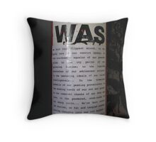Pole Poetry Throw Pillow