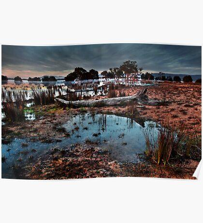 Lake Lonsdale Dawn. Poster