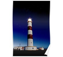 Tarbert Ness Lighthouse Poster