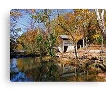 John Wesley Hall Grist Mill Canvas Print