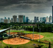 Baseball Diamond by misterhan