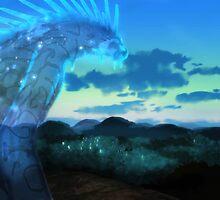 Princess Mononoke - Forest Spirit by Optimistic  Sammich