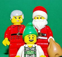Lego Christmas by robertsscholes