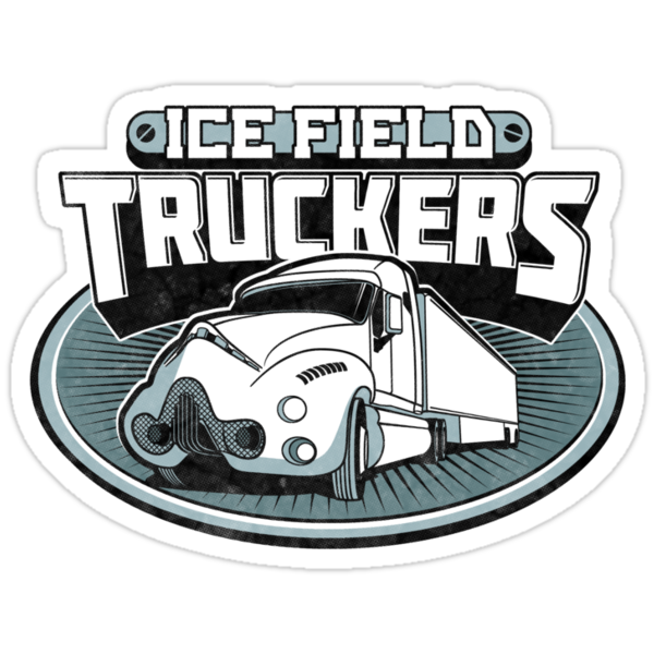 Ice Field Truckers by rubyred