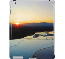 Pamukkale Sunset Vector iPad Case/Skin