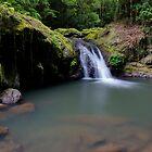 """Bunyip Falls"" ∞ Lamington National Park, QLD - Australia by Jason Asher"