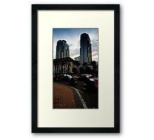 Jakarta Traffic Framed Print