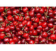 Red Cherries  Photographic Print