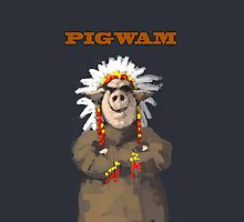 PIGWAM painting of a Pig Chief by astralsid