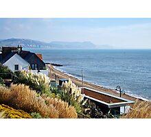 November Morning ~ Lyme Regis Photographic Print