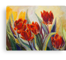 Spring Fire Canvas Print