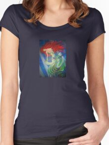 Enchanted Mermaid Women's Fitted Scoop T-Shirt