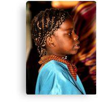 Young Somalian Girl Canvas Print