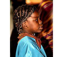 Young Somalian Girl Photographic Print