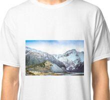 Hooker Valley Mt Cook New Zealand Classic T-Shirt