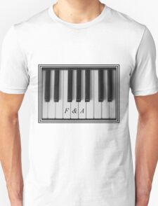 F&A Piano Keys Unisex T-Shirt