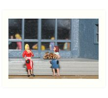 No Mildred!  What I said was you should bring some FUN GUY to the party!! Art Print