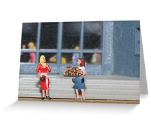 No Mildred!  What I said was you should bring some FUN GUY to the party!! Greeting Card