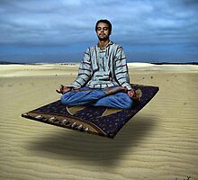 Hipster on a Flying Carpet by GolemAura