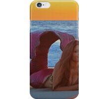 Sunset Mermaid iPhone Case/Skin