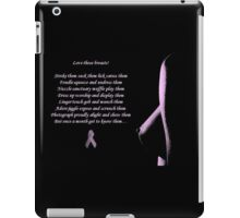 Love Those Breasts iPad Case/Skin