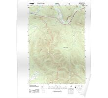 USGS TOPO Map New Hampshire NH Stark 20120508 TM Poster
