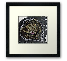 """Untamed""  by Carter L. Shepard Framed Print"