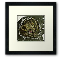 """Untamed Yellow""  by Carter L. Shepard Framed Print"