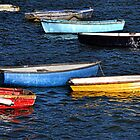 Boats Of Many Colours by lynn carter