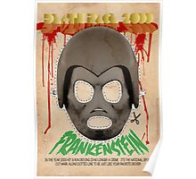 Death Race 2000 (mask) Poster