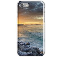 Sunset at The Wreck iPhone Case/Skin