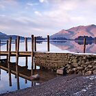 Ashness Jetty - Derwentwater - The Lake District by Dave Lawrance