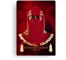 Imperial Guard Canvas Print
