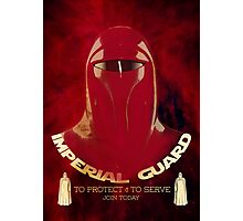 Imperial Guard Photographic Print