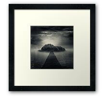.mountain. Framed Print