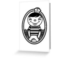 Savvy Sailor Greeting Card