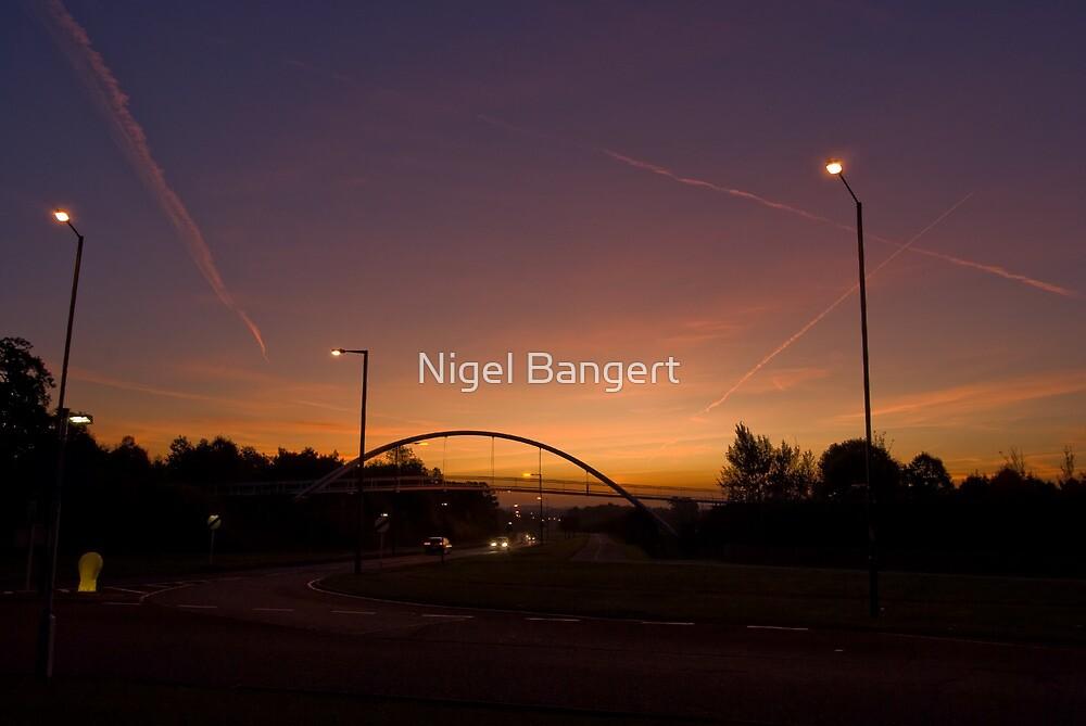 Pinnacles Sunrise by Nigel Bangert