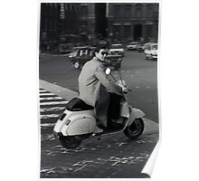 Scooterman Rome Poster