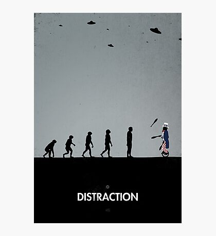 99 Steps of Progress - Distraction Photographic Print