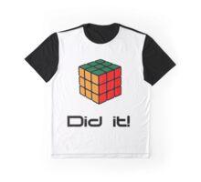 Rubix Cube - Did it! Graphic T-Shirt