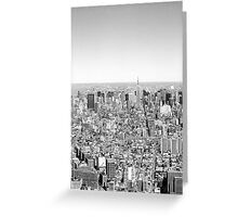 New York Skyline 1 Greeting Card